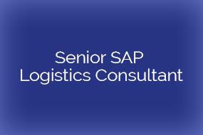 Senior SAP Logistics Consultant (m/W) – Teilprojektleiter